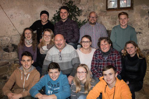 Gruppenbild der Spieler 2020